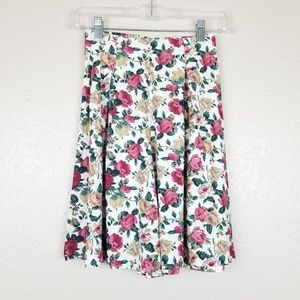 Vintage Shorts Floral High Waist Fritzi Petites PS